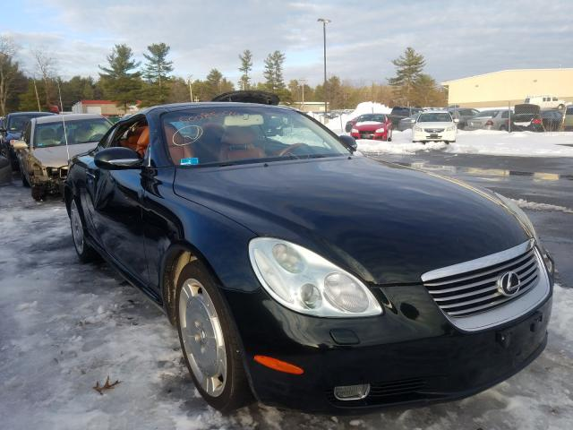 Salvage cars for sale from Copart Exeter, RI: 2005 Lexus SC 430