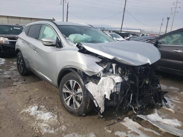 Salvage cars for sale from Copart Columbus, OH: 2020 Nissan Murano SV