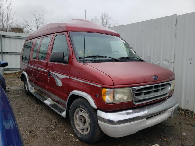 Salvage cars for sale from Copart Columbia Station, OH: 2001 Ford Econoline