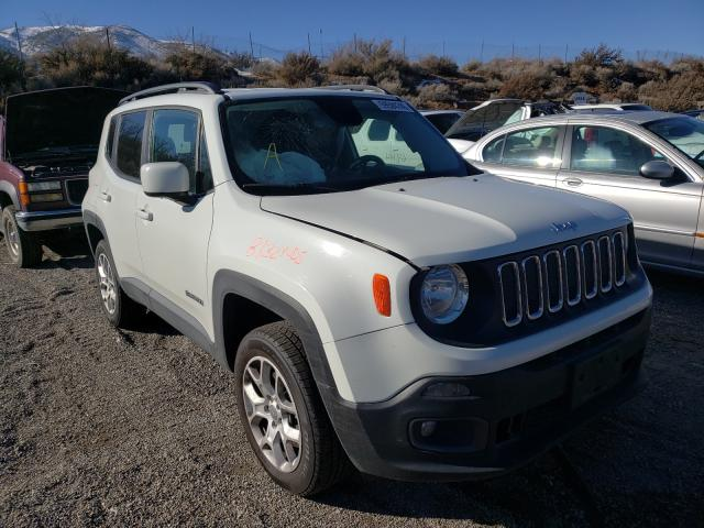 Salvage cars for sale from Copart Reno, NV: 2017 Jeep Renegade L