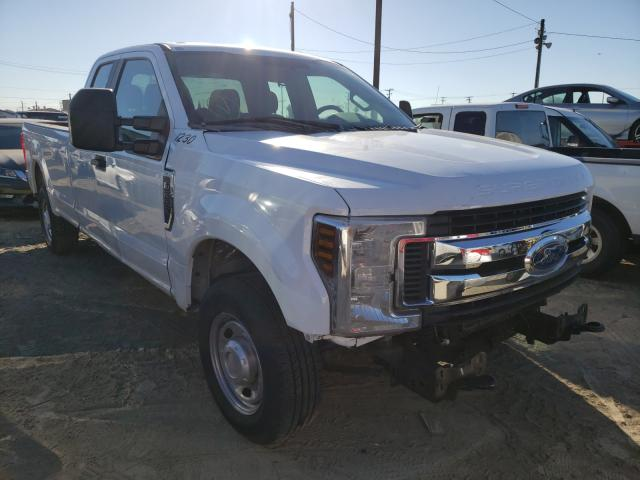 Ford F250 Super salvage cars for sale: 2018 Ford F250 Super