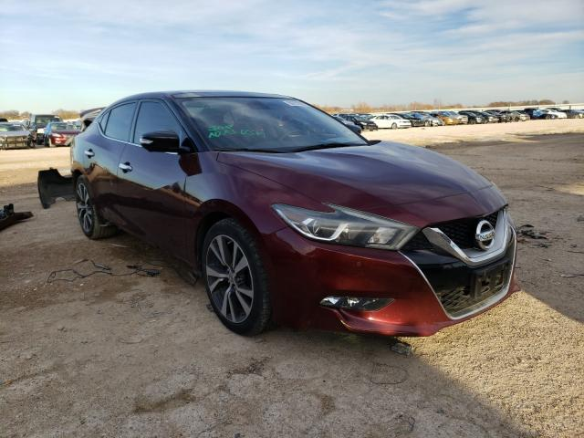 Salvage cars for sale from Copart Temple, TX: 2016 Nissan Maxima 3.5