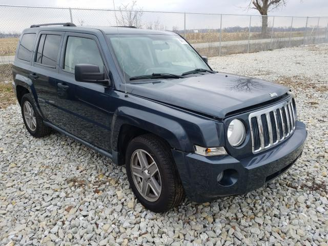 Salvage cars for sale from Copart Cicero, IN: 2008 Jeep Patriot SP