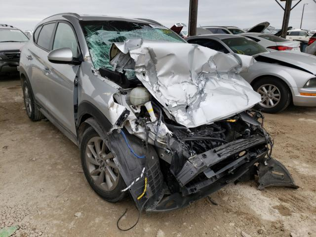 Salvage cars for sale from Copart Temple, TX: 2018 Hyundai Tucson SEL
