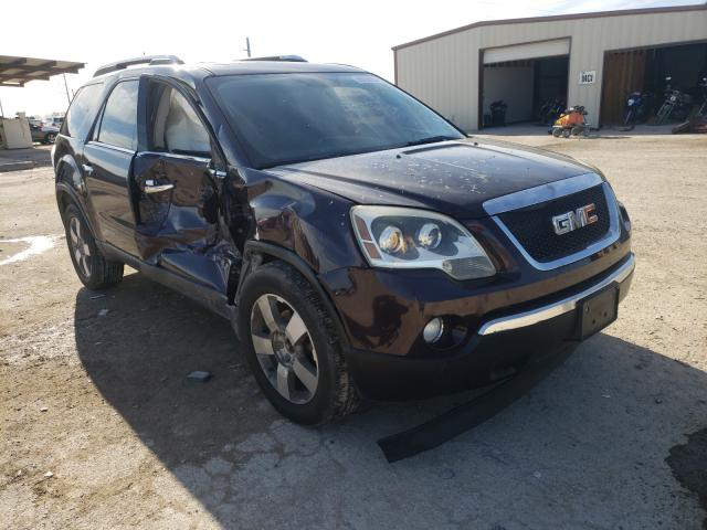 Salvage cars for sale from Copart Temple, TX: 2009 GMC Acadia SLT