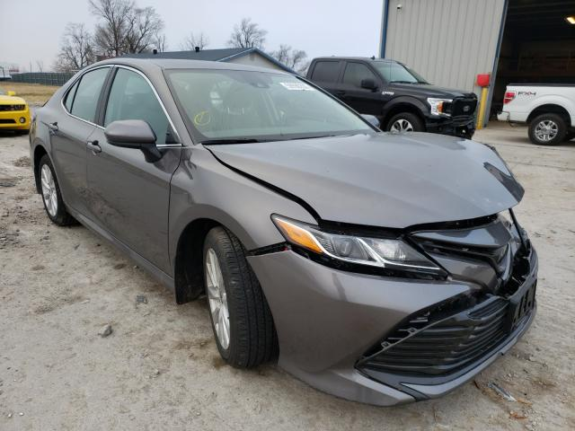Salvage cars for sale from Copart Sikeston, MO: 2020 Toyota Camry