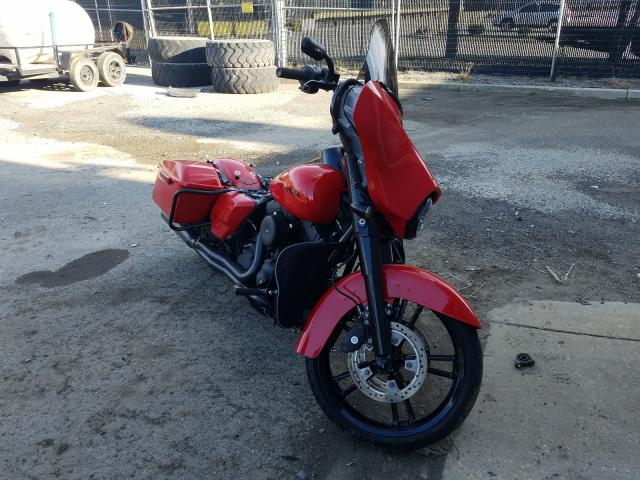 Salvage cars for sale from Copart Waldorf, MD: 2016 Harley-Davidson Flhxs Street