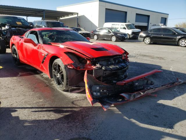 Salvage cars for sale from Copart Anthony, TX: 2017 Chevrolet Corvette S