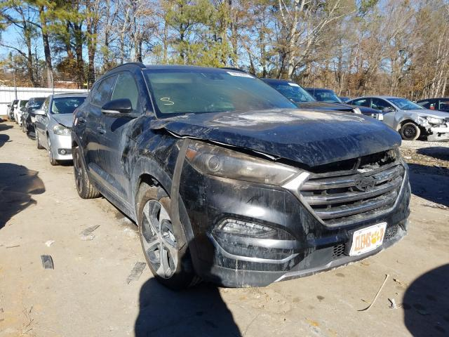 Vehiculos salvage en venta de Copart Austell, GA: 2016 Hyundai Tucson Limited
