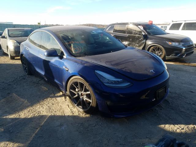 Salvage cars for sale from Copart Kansas City, KS: 2018 Tesla Model 3