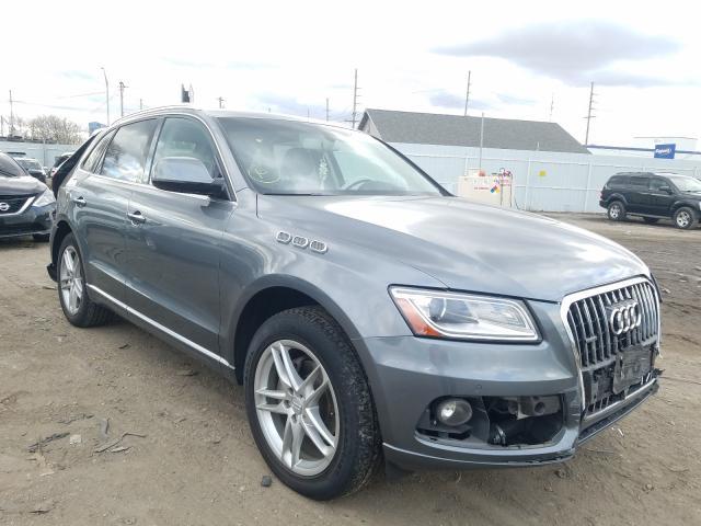 Audi Q5 Premium salvage cars for sale: 2017 Audi Q5 Premium