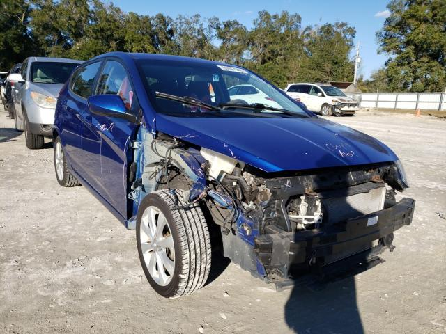 Salvage cars for sale from Copart Ocala, FL: 2012 Hyundai Accent GLS