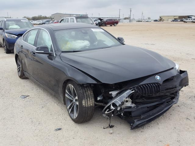 Salvage cars for sale from Copart San Antonio, TX: 2020 BMW 430I Gran Coupe