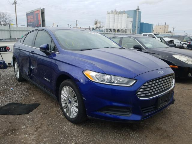 Salvage cars for sale from Copart Chicago Heights, IL: 2014 Ford Fusion S H