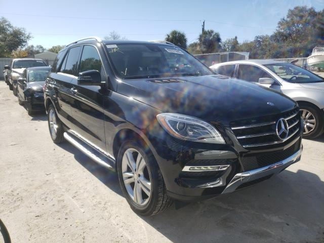 Salvage cars for sale from Copart Punta Gorda, FL: 2014 Mercedes-Benz ML 350