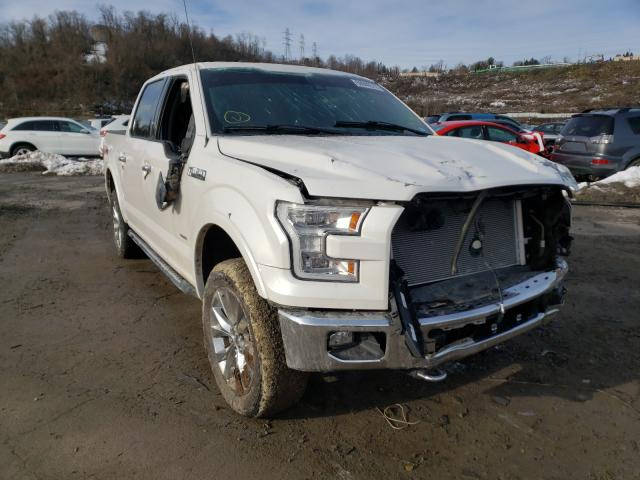 Salvage cars for sale from Copart West Mifflin, PA: 2016 Ford F150 Super