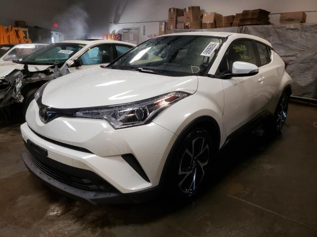 из сша 2018 Toyota C-Hr Xle 2.0L NMTKHMBX2JR021383