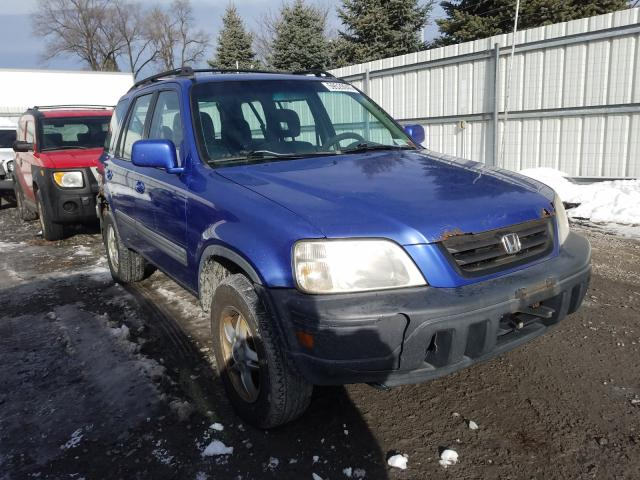Salvage cars for sale from Copart Albany, NY: 2000 Honda CR-V EX