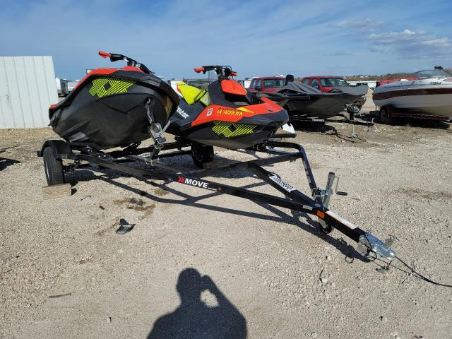 Salvage cars for sale from Copart Temple, TX: 2020 Seadoo Jetski