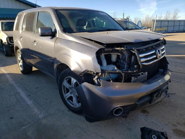 Honda Pilot EXL salvage cars for sale: 2014 Honda Pilot EXL