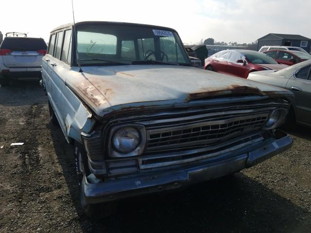 Salvage cars for sale from Copart Antelope, CA: 1972 Jeep Wagoneer