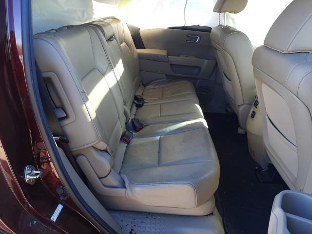 5FNYF4H58CB080338 2012 Honda Pilot Exl 3.5L