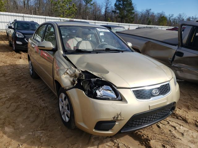 Salvage cars for sale from Copart Gaston, SC: 2010 KIA Rio LX