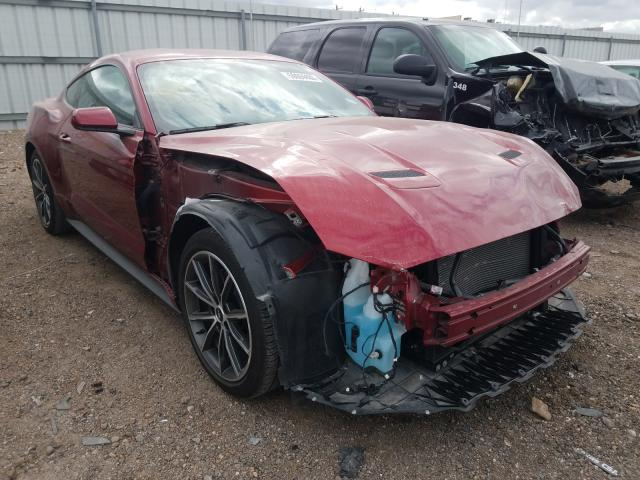 Salvage cars for sale from Copart Mercedes, TX: 2019 Ford Mustang