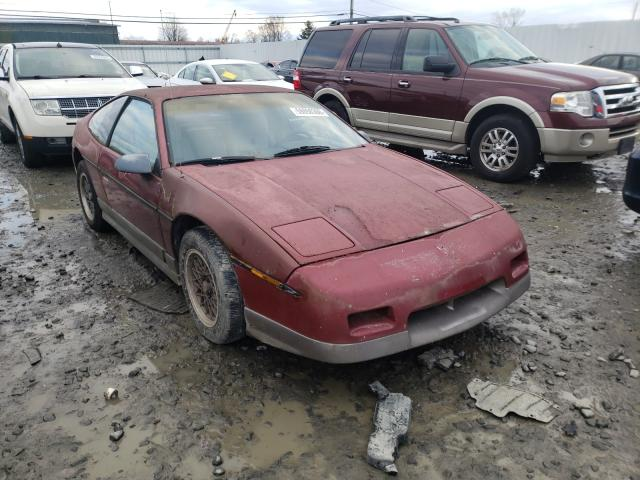 Pontiac Fiero GT salvage cars for sale: 1987 Pontiac Fiero GT