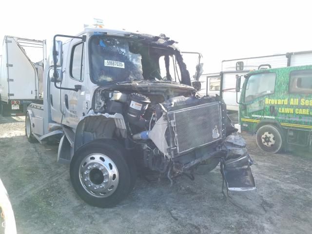 Salvage cars for sale from Copart Fort Pierce, FL: 2007 Freightliner M2 106 MED