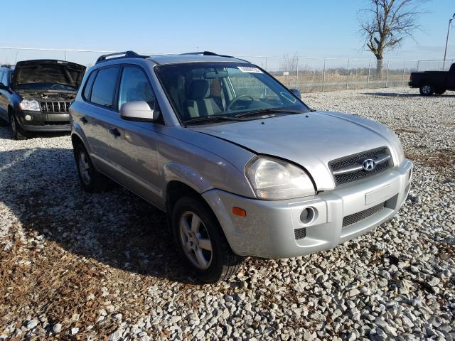 Salvage cars for sale from Copart Cicero, IN: 2007 Hyundai Tucson GLS
