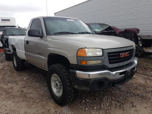 Salvage cars for sale from Copart Houston, TX: 2007 GMC Sierra C25