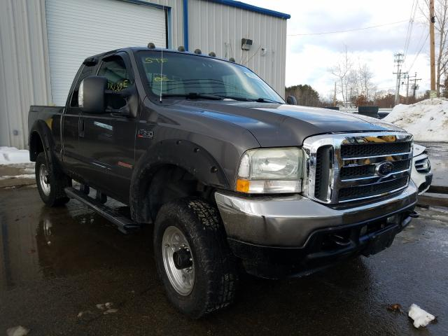 Salvage cars for sale from Copart North Billerica, MA: 2004 Ford F350 SRW S