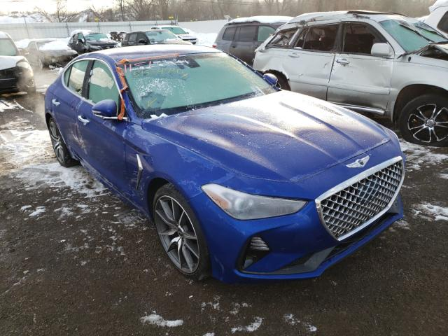 Genesis salvage cars for sale: 2019 Genesis G70 Sport