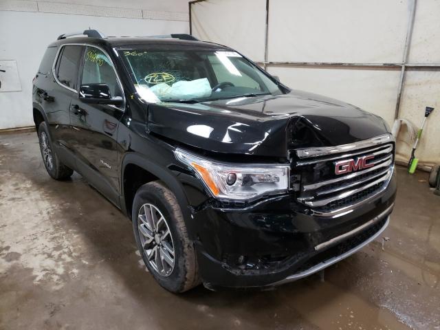 Salvage cars for sale at Davison, MI auction: 2019 GMC Acadia SLE