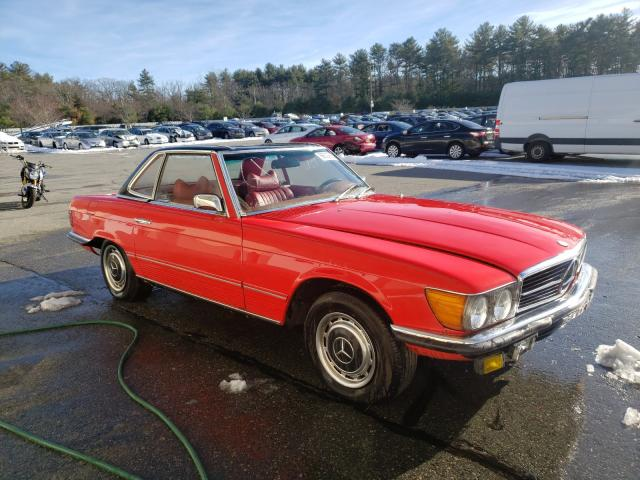 Salvage cars for sale from Copart Exeter, RI: 1972 Mercedes-Benz 350
