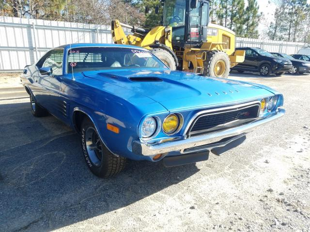 Salvage cars for sale from Copart Gaston, SC: 1972 Dodge Challenger