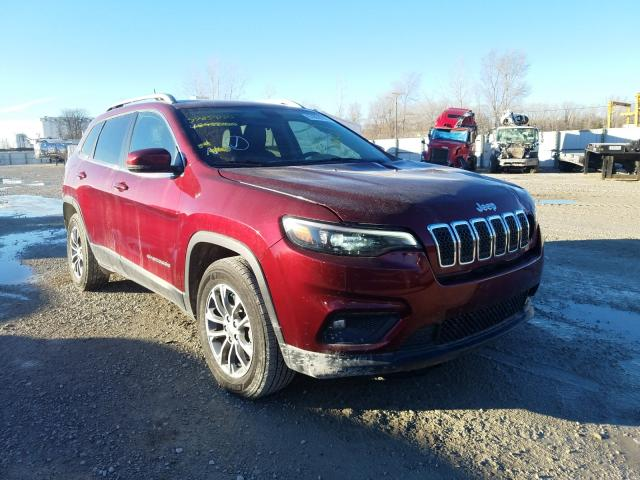 Salvage cars for sale from Copart Des Moines, IA: 2019 Jeep Cherokee L