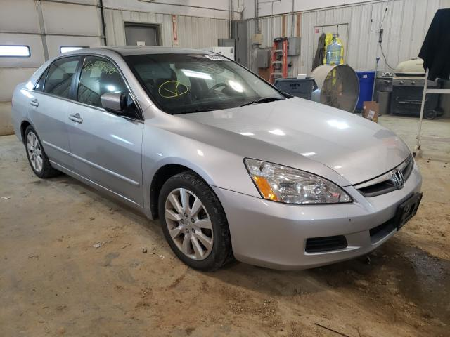 Salvage cars for sale from Copart Columbia, MO: 2006 Honda Accord EX