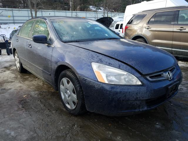 Salvage cars for sale from Copart Mendon, MA: 2005 Honda Accord