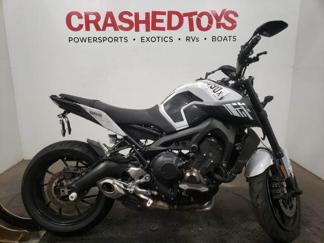 Vehiculos salvage en venta de Copart Sacramento, CA: 2017 Yamaha FZ09 C