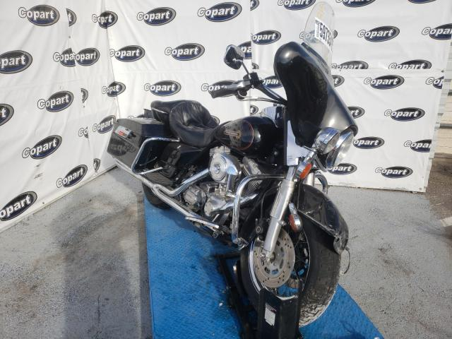 Salvage cars for sale from Copart Anthony, TX: 1999 Harley-Davidson Flht