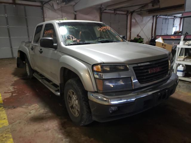 Salvage cars for sale from Copart Lyman, ME: 2005 GMC Canyon