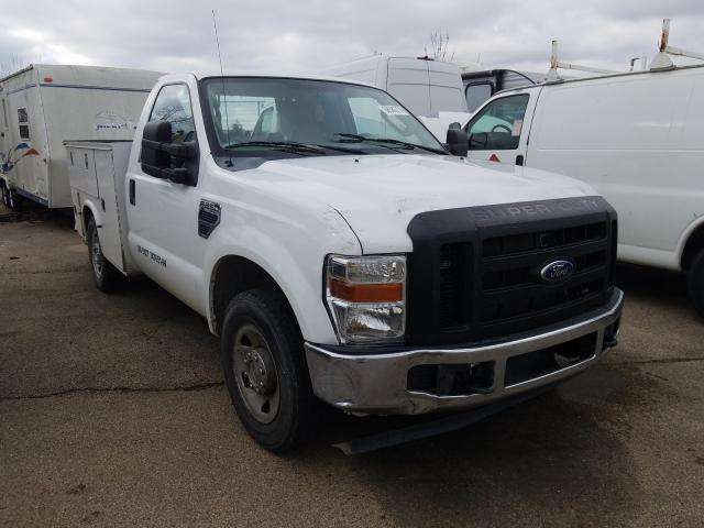 Salvage cars for sale from Copart Moraine, OH: 2009 Ford F250 Super