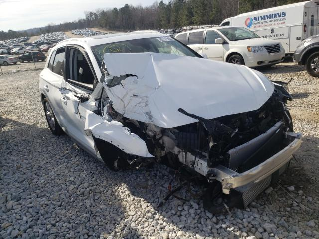 Salvage cars for sale from Copart Gainesville, GA: 2019 Audi Q5 Premium