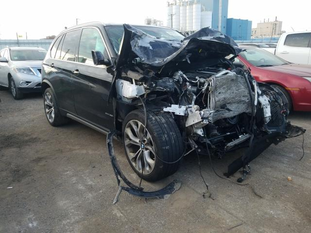 Salvage cars for sale from Copart Chicago Heights, IL: 2017 BMW X5 XDRIVE3