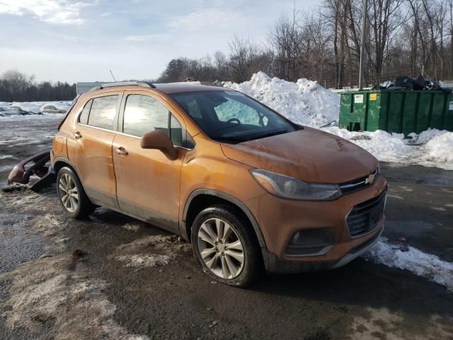 Chevrolet Trax Premium salvage cars for sale: 2017 Chevrolet Trax Premium