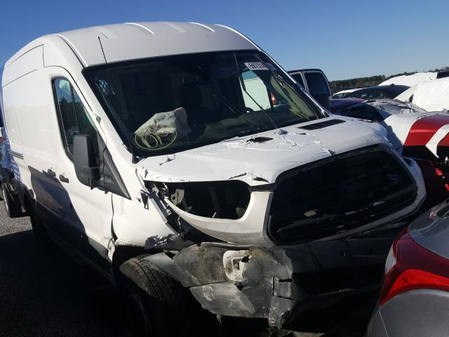 Salvage cars for sale from Copart Harleyville, SC: 2017 Ford Transit T