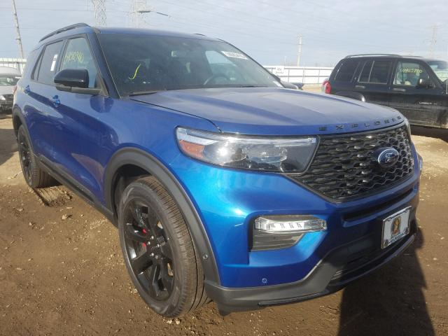 Vehiculos salvage en venta de Copart Elgin, IL: 2020 Ford Explorer S