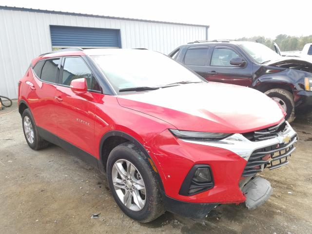 Salvage cars for sale from Copart Shreveport, LA: 2020 Chevrolet Blazer 2LT